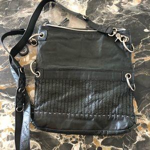 The Sak leather black bag